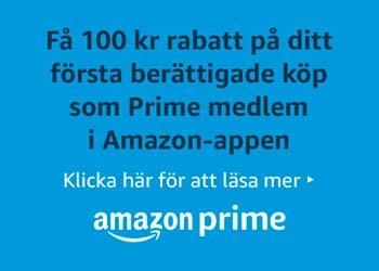 100 kr rabatt för Prime-medlemmar