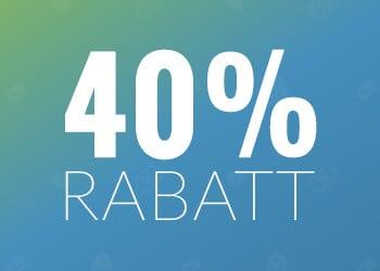 Upp till 40% rabatt hos WeGot.se