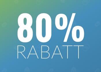 80% rabatt hos Members.com