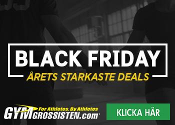 Black Weekend på Gymgrossisten.com
