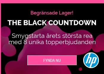 Black Countdown hos HP Store