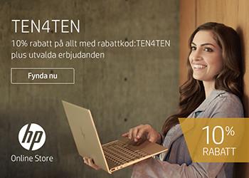 10% rabatt på allt hos HP Store