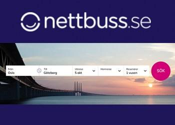 Nettbuss rabatt mars 2018