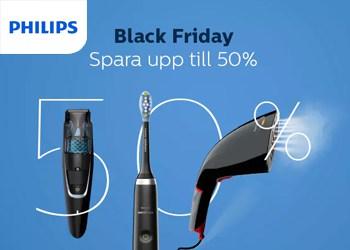 Upp till 50% rabatt på Philips.se