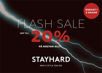 Flash Sale hos Stayhard