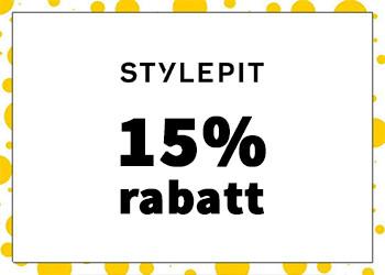 15% exklusiv rabatt hos Stylepit