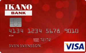 Ikano Kort Kreditkort