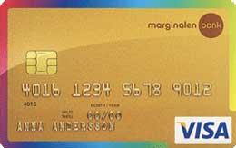 Marginalen Gold Kreditkort