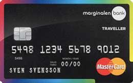 Marginalen Traveller Kreditkort