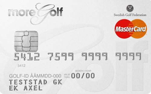 MoreGolf MasterCard Kreditkort