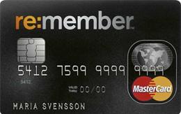 Remember Kreditkort Kreditkort