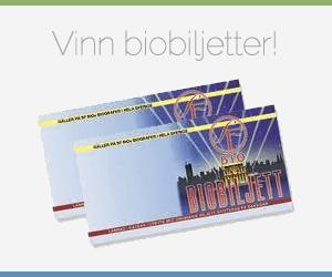 Vinn biobiljetter gratis
