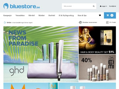 Bluestore Screenshot