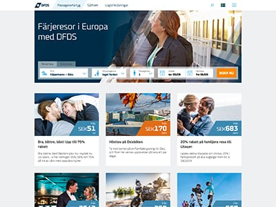 DFDS Screenshot
