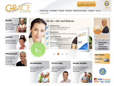Grace Wellness Screenshot