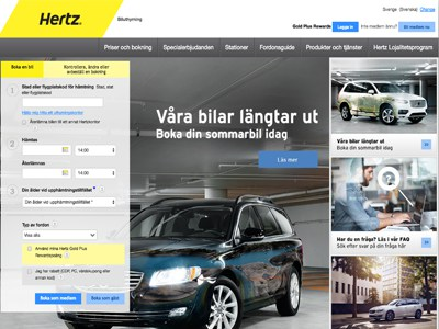 Hertz Screenshot