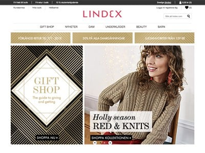 Lindex Screenshot