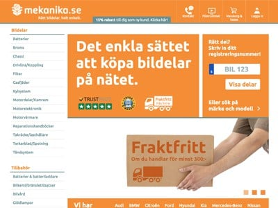 Mekanika.se Screenshot