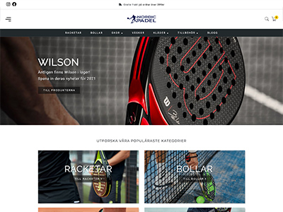 Nordic Padel Screenshot