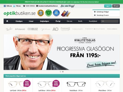 Optikbutiken Screenshot