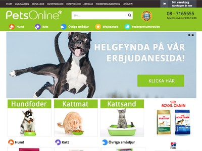 PetsOnline Screenshot