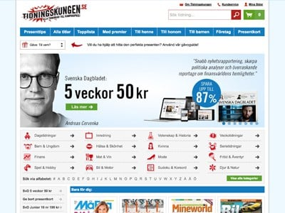Tidningskungen Screenshot